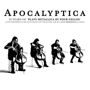 APOCALYPTICA- Plays Metallica By Four Cellos