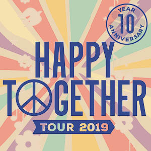 Happy Together Tour 2019 10th Anniversary starring The Turtles, Chuck Negron, Gary Puckett, The Buckinghams, The Classics IV and The Cowsills