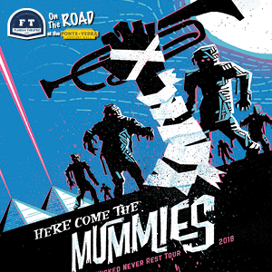 Here Come The Mummies Halloween Wrap Party at the Ponte Vedra Concert Hall
