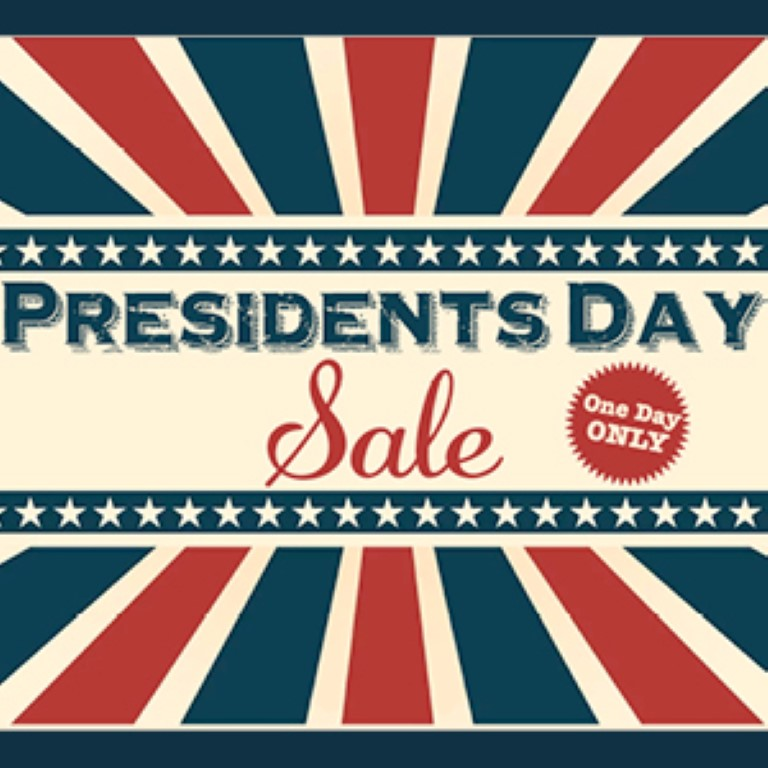 Presidents Day Sale 2017