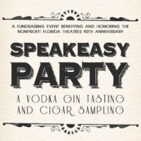 Speakeasy  – A Vodka Gin Tasting and Cigar Sampling Party
