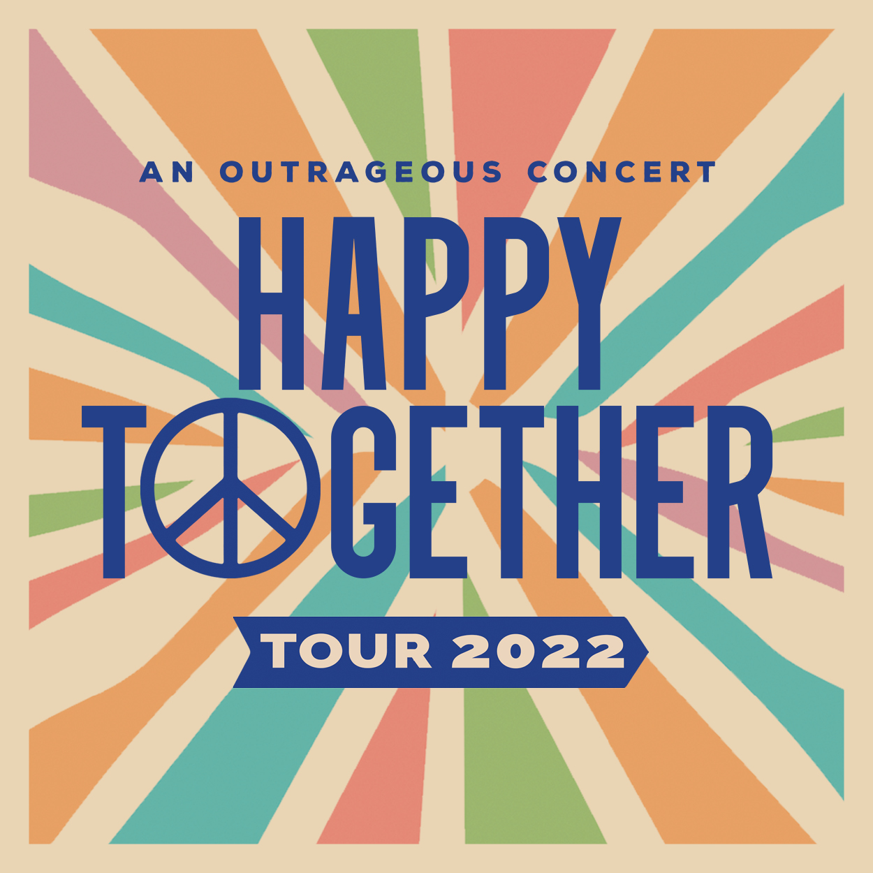 Happy Together Tour 2022 featuring The Turtles, Chuck Negron, The Association, Mark Lindsay, The Vogues and The Cowsills
