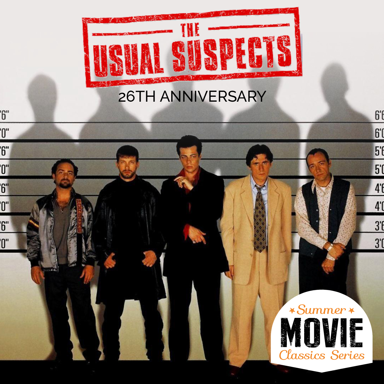 Summer Movie Classics | The Usual Suspects | 26th Anniversary