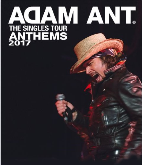 Adam Ant:  Anthems Tour